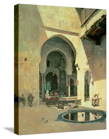The Court of the Alhambra, 1871-Mariano Fortuny y Marsal-Stretched Canvas Print