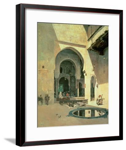 The Court of the Alhambra, 1871-Mariano Fortuny y Marsal-Framed Art Print