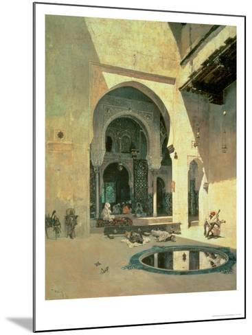The Court of the Alhambra, 1871-Mariano Fortuny y Marsal-Mounted Giclee Print