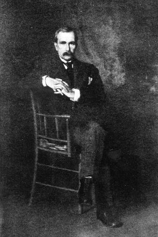 John Davison Rockefeller--Stretched Canvas Print