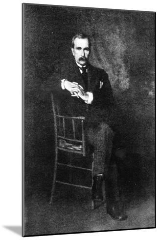 John Davison Rockefeller--Mounted Giclee Print
