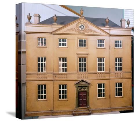 Doll's House, Neo-Classical Adam Style, c.1810--Stretched Canvas Print