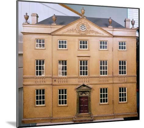 Doll's House, Neo-Classical Adam Style, c.1810--Mounted Giclee Print