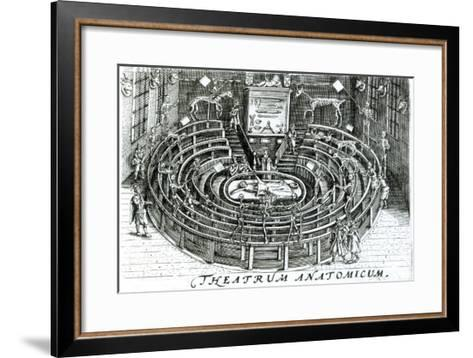 The Anatomy Theatre--Framed Art Print