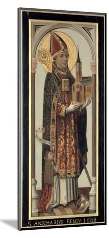 Votive Panel Depicting St. Ansgar, 1457-Hans Bornemann-Mounted Giclee Print