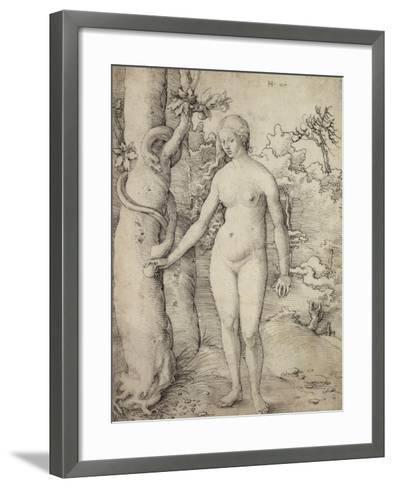 Eve, 1510-Hans Baldung Grien-Framed Art Print