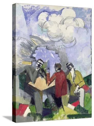 The Conquest of the Air, 1913-Roger de La Fresnaye-Stretched Canvas Print
