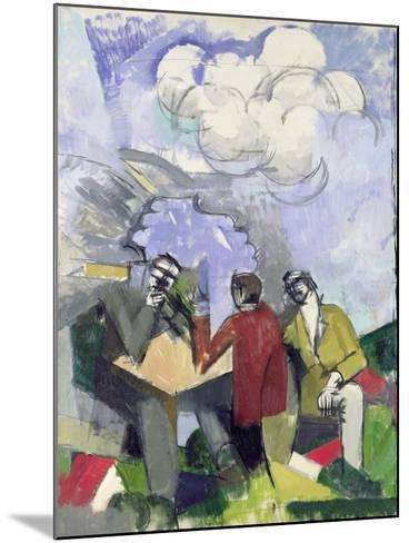 The Conquest of the Air, 1913-Roger de La Fresnaye-Mounted Giclee Print