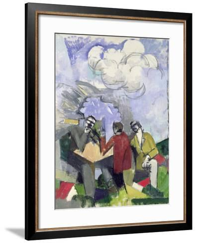 The Conquest of the Air, 1913-Roger de La Fresnaye-Framed Art Print