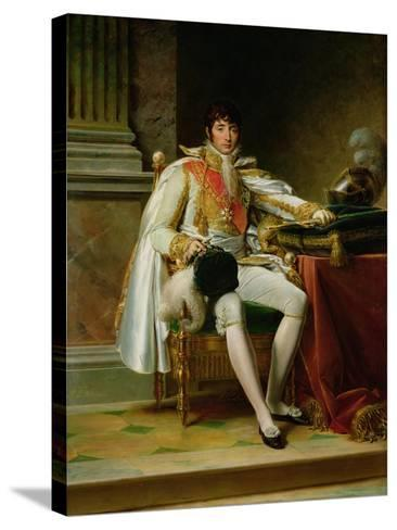 Louis Bonaparte-Francois Gerard-Stretched Canvas Print