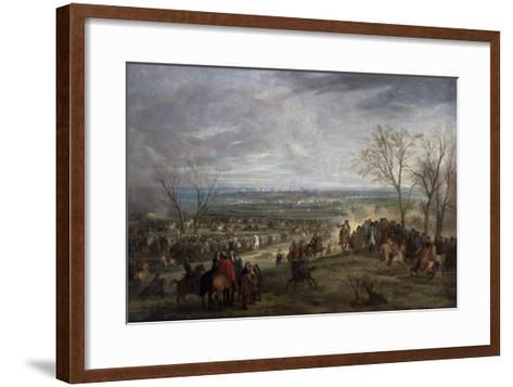 The Siege of Valenciennes, 1677-Adam Frans van der Meulen-Framed Art Print