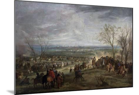 The Siege of Valenciennes, 1677-Adam Frans van der Meulen-Mounted Giclee Print