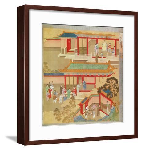 Emperor Hsuan Tsung--Framed Art Print