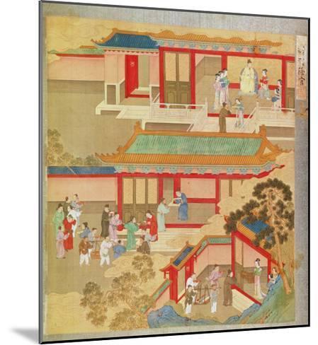 Emperor Hsuan Tsung--Mounted Giclee Print