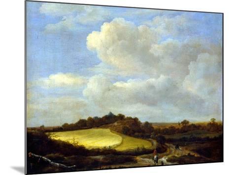 The Wheatfield-Jacob Isaaksz^ Or Isaacksz^ Van Ruisdael-Mounted Giclee Print