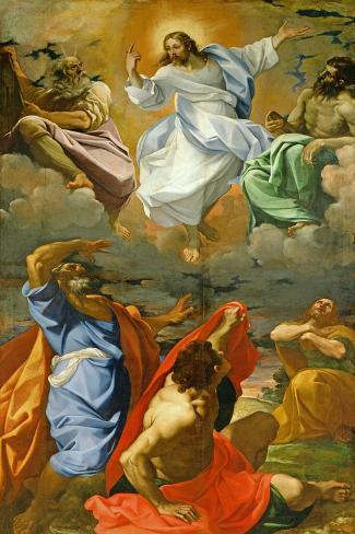 The Transfiguration, 1594-95-Ludovico Carracci-Stretched Canvas Print