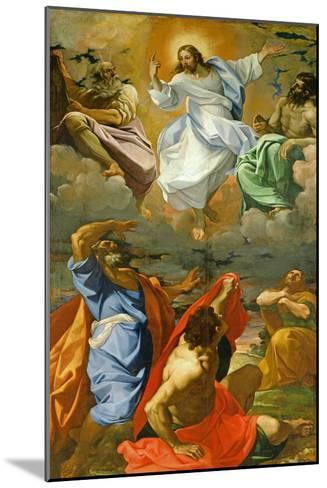 The Transfiguration, 1594-95-Ludovico Carracci-Mounted Giclee Print