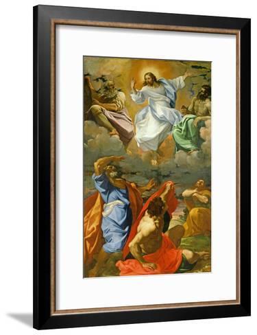 The Transfiguration, 1594-95-Ludovico Carracci-Framed Art Print