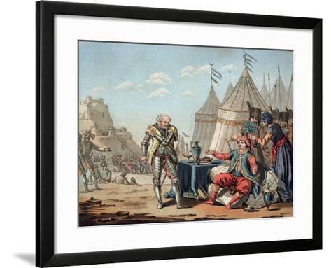 Philippe Villiers de L'Isle-Adam-Jacques Francois Joseph Swebach-Framed Art Print