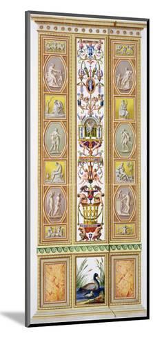 Raphael Loggia at the Vatican, 'Delle Loggie Di Rafaele Nel Vaticano', Engraved Giovanni Volpato-Ludovicus Tesio Taurinensis-Mounted Giclee Print