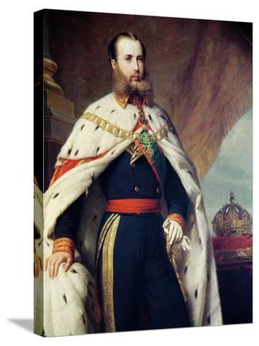 Maximilian of Hapbsburg-Lorraine-Alfred Graeffle-Stretched Canvas Print