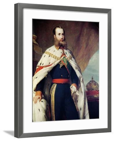 Maximilian of Hapbsburg-Lorraine-Alfred Graeffle-Framed Art Print