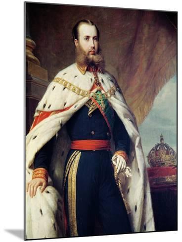 Maximilian of Hapbsburg-Lorraine-Alfred Graeffle-Mounted Giclee Print