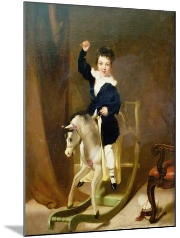 The Young Huntsman-George Chinnery-Mounted Giclee Print