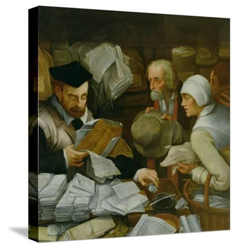 The Tax Collector, 1543-Paul Vos-Stretched Canvas Print