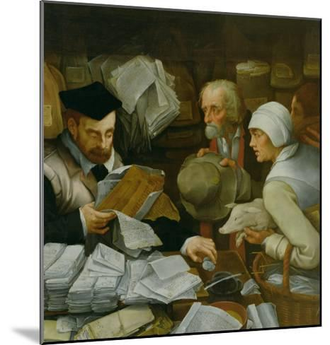 The Tax Collector, 1543-Paul Vos-Mounted Giclee Print