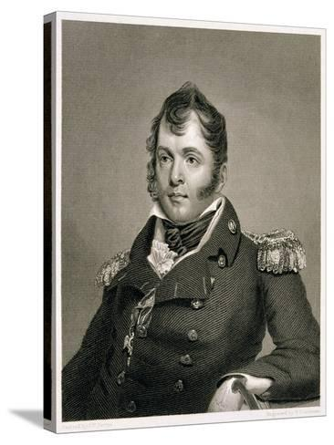 Commodore Oliver Hazard Perry-John Wesley Jarvis-Stretched Canvas Print