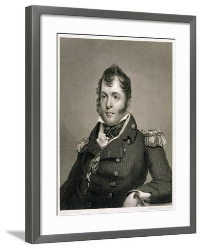 Commodore Oliver Hazard Perry-John Wesley Jarvis-Framed Art Print