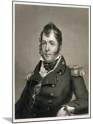 Commodore Oliver Hazard Perry-John Wesley Jarvis-Mounted Giclee Print