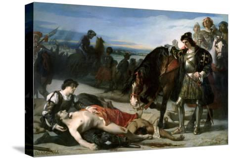 The Two Leaders, 1866-Jose Casado Del Alisal-Stretched Canvas Print