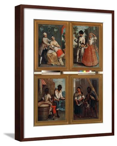 Four Different Racial Groups-Andres De Islas-Framed Art Print