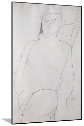 Jacques Lipchitz-Amedeo Modigliani-Mounted Giclee Print