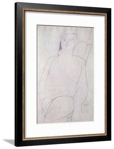 Jacques Lipchitz-Amedeo Modigliani-Framed Art Print