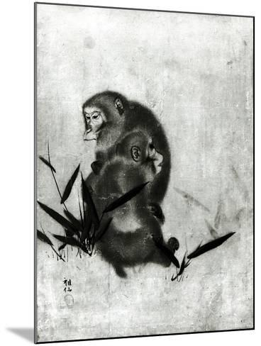 Monkeys- Mori Sosen-Mounted Giclee Print