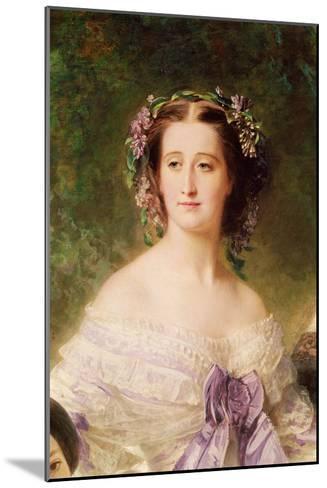 Empress Eugenie-Franz Xaver Winterhalter-Mounted Giclee Print