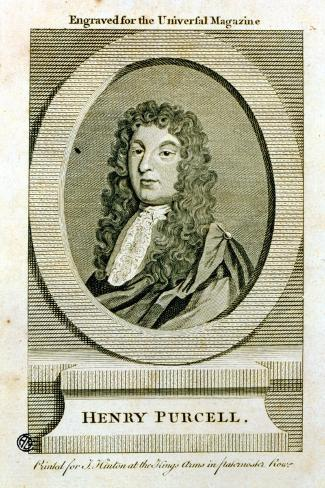 Henry Purcell--Stretched Canvas Print