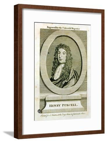 Henry Purcell--Framed Art Print