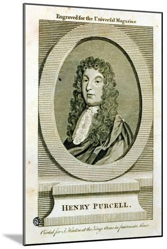 Henry Purcell--Mounted Giclee Print