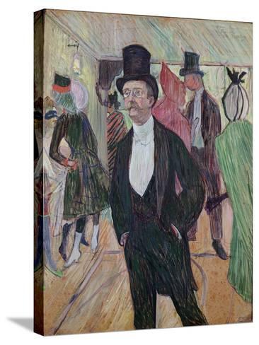 Monsieur Fourcade, 1889-Henri de Toulouse-Lautrec-Stretched Canvas Print