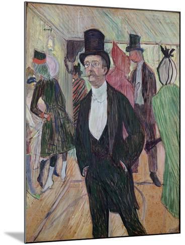 Monsieur Fourcade, 1889-Henri de Toulouse-Lautrec-Mounted Giclee Print
