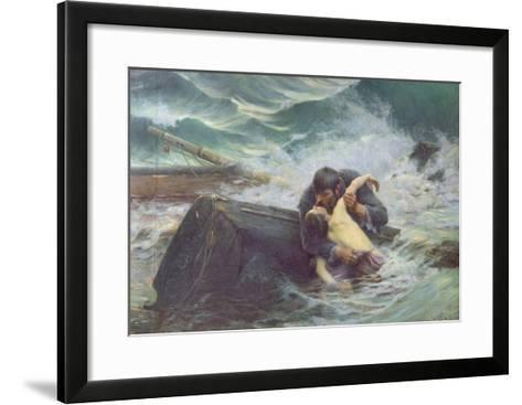 Adieu, 1892-Alfred Guillou-Framed Art Print