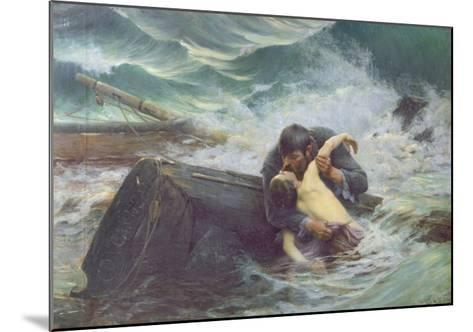 Adieu, 1892-Alfred Guillou-Mounted Giclee Print