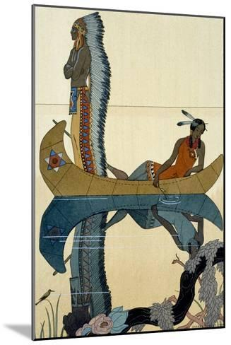 On the Missouri, 1922-Georges Barbier-Mounted Giclee Print
