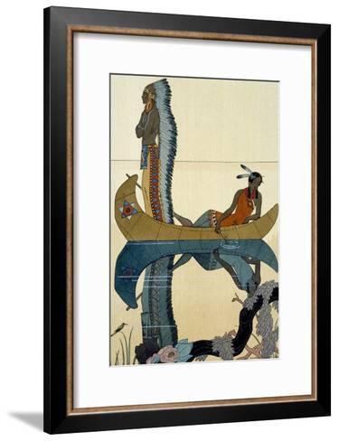 On the Missouri, 1922-Georges Barbier-Framed Art Print