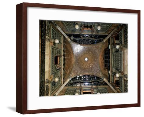 Dome of the Gran Salon, 1886-91-Antoni Gaud?-Framed Art Print