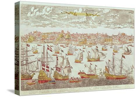 View of Lisbon--Stretched Canvas Print